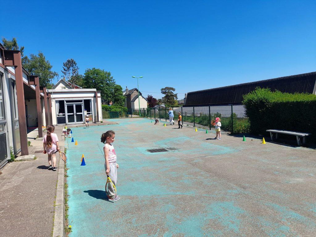 tennis à l'école 2